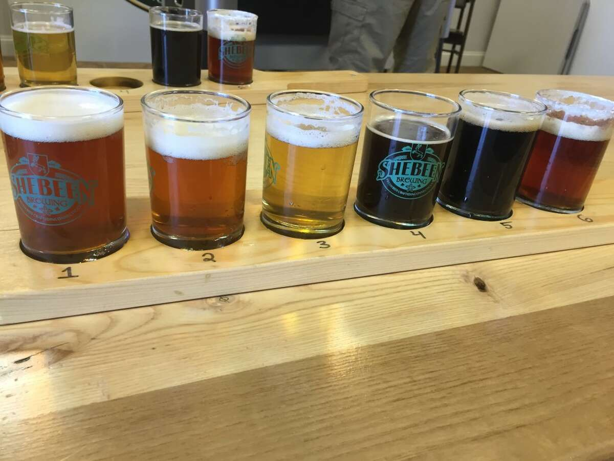 """Type: Spiced dessert beer Availability: Pickup and on tap Shebeen Brewing Company's cannoli-style brew meets the fall season for a dessert beer that aims to encompass the surrounding """"sweater weather."""""""