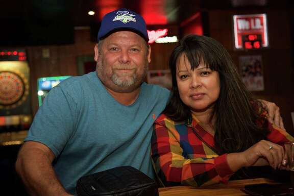Duane and Shirley Perez are at The Recovery Room.