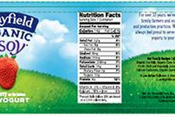 Organic yogurt maker, Stonyfield, is voluntarily recalling a specific code date of its O'Soy Strawberry soy yogurt because it may contain an undeclared milk allergen. The recalled yogurt was sold in 18 states, including Connecticut. Photo courtesy of the U.S. Food and Drug Administration.