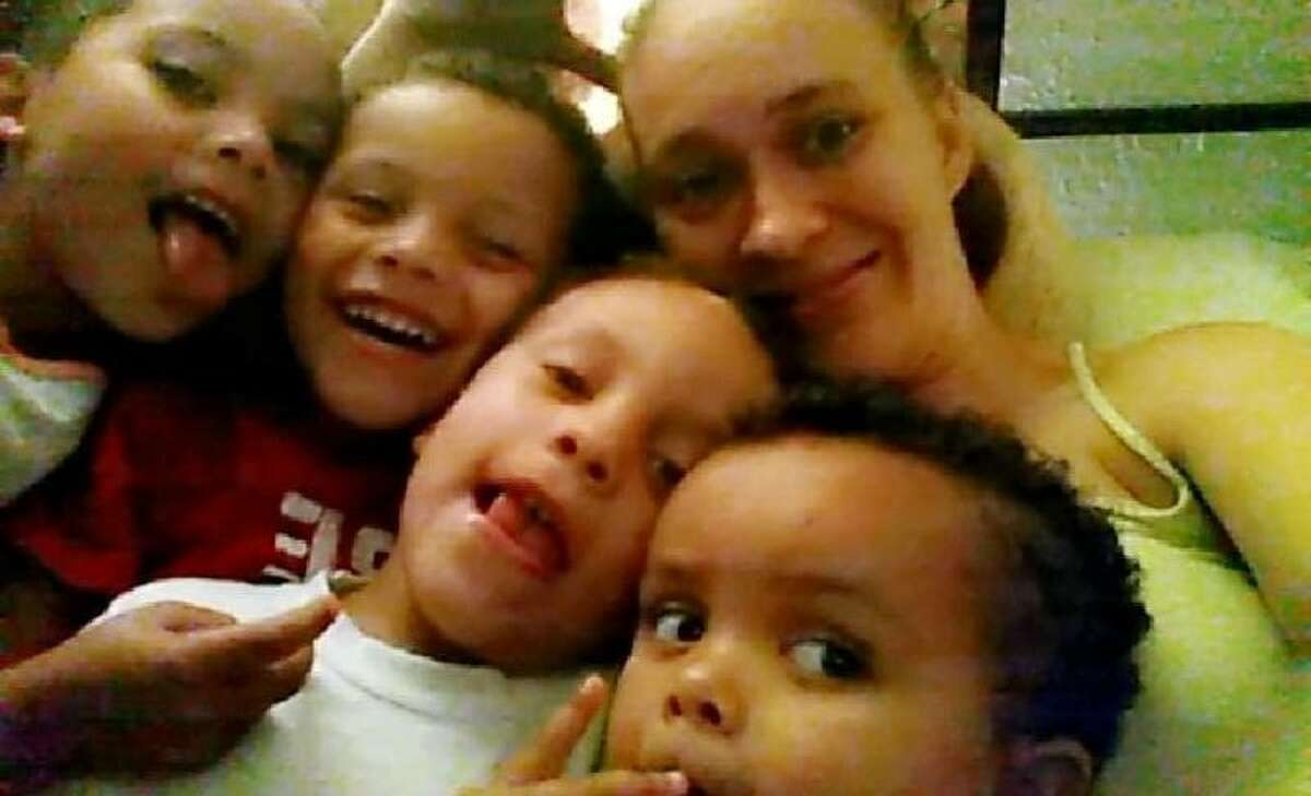 Ashley Pickering and her children Cristian Mattox, Serenity Mattox, Cavence Mattox, Cash Mattox and Camden Mattox were killed in a structure fire at their residence near Silsbee Wednesday, October 18, 2017. Photos provided by family.