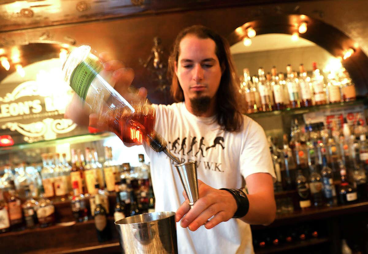 Bartender John Dilan