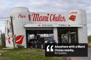 """Ely Guerra: """"Anywhere with a Mami Chulas nearby."""""""