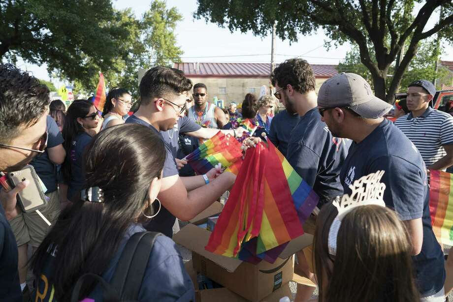 Of the six San Antonio companies analyzed in the Human Rights Campaign's Corporate Equality Index,  only USAA received 100 out of 100 possible points. Photo: Courtesy Photo
