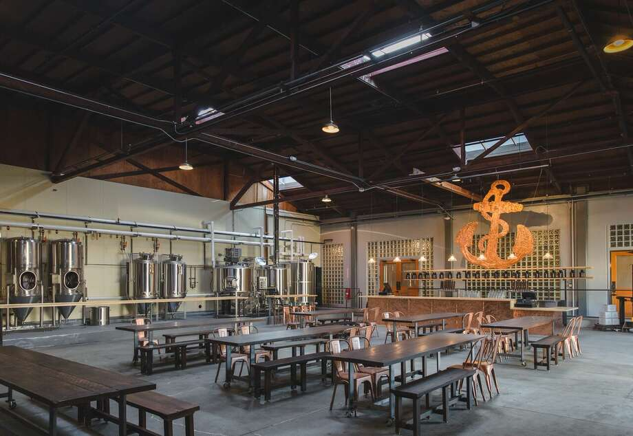 Anchor Brewing Company will soon open Anchor Public Taps, its first public taproom since before Prohibition. Photo: Photo By Erin Conger