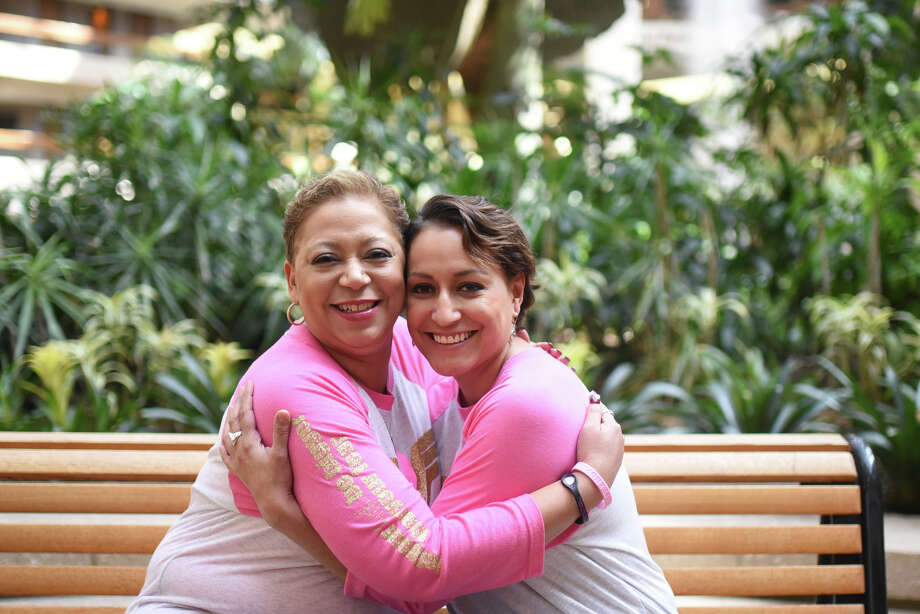 Connie and Tasandra Rubio are sisters-in-law who underwent treatment at Texas Oncology, photographed Oct. 18, 2017, at Claydesta Center. James Durbin/Reporter-Telegram Photo: James Durbin