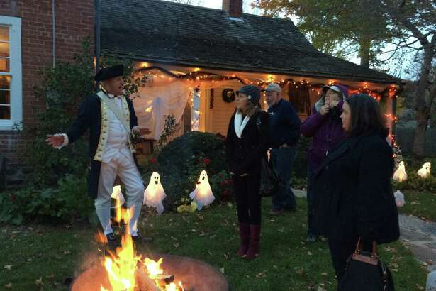 "Chills and frights, along with a bit of history, await those who participate in the Clinton Historical Society's annual ""Ghost Walks."""