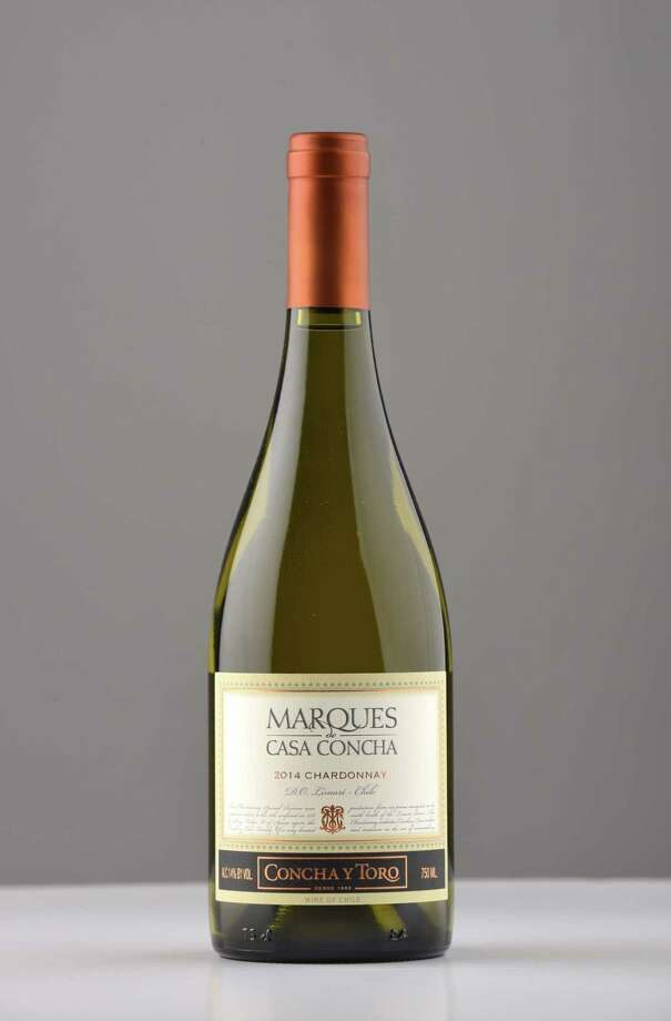 Marques de Casa Concha, 2014 chardonnay  on Wednesday, March 8, 2017, at the Times Union in Colonie, N.Y. (Will Waldron/Times Union) Photo: Will Waldron
