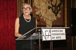 NEW YORK, NY - NOVEMBER 01:  Alice Walton attends American Federation of Arts Gala & Cultural Leadership Awards 2016 at Metropolitan Club on November 1, 2016 in New York City.  (Photo by Sylvain Gaboury/Patrick McMullan via Getty Images)