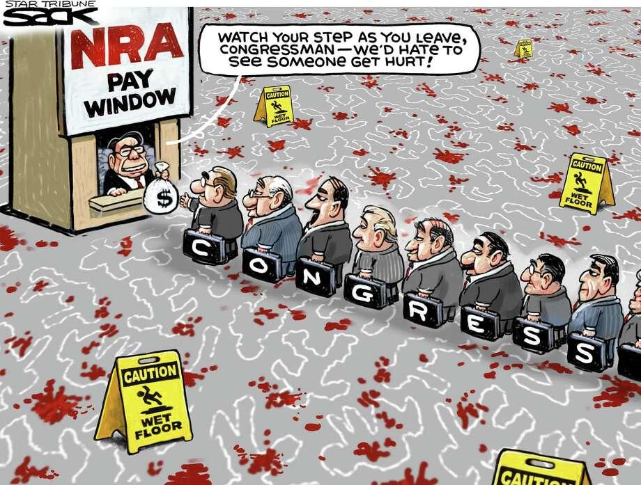 Editorial cartoon by Sack / Minneapolis Star Tribune