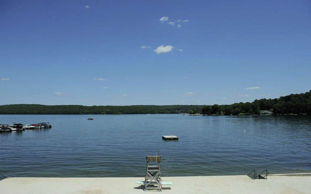 A view of Candlewood Lake last year from the New Fairfield Town Park.