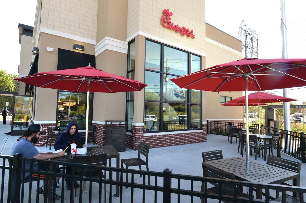 The Chick-fil-A in Norwalk.