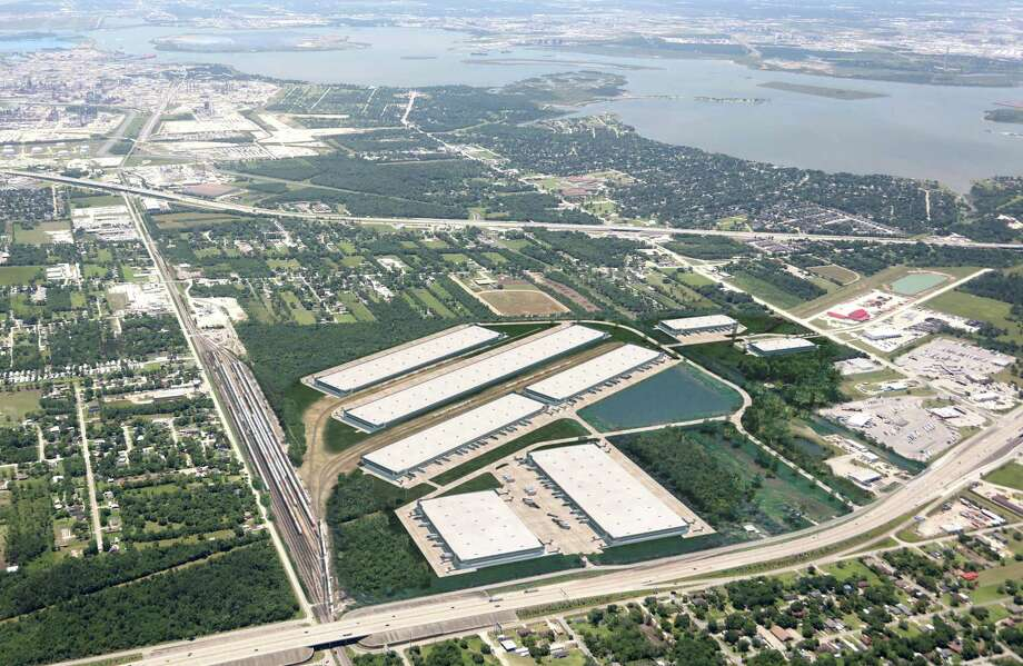 Houston-based Pontikes Development plans to break ground on Port 10 Logistics Center, a rail-served industrial development that will encompass 3 million square feet of warehouse and distribution space at the southeast corner of Interstate 10 and Thompson Road Baytown. The first phase is scheduled to open in the third quarter of 2018. Photo: JLL