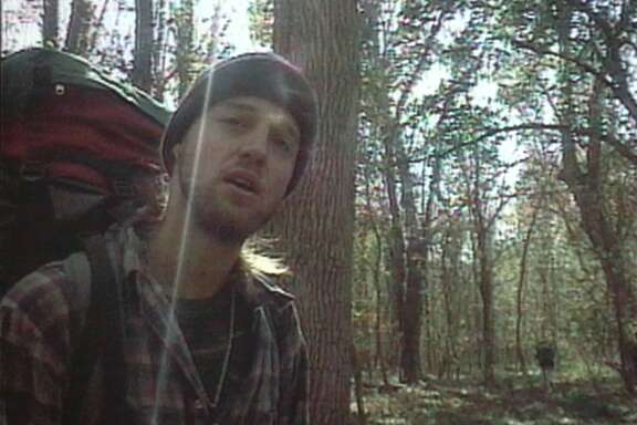 The Blair Witch Project - Joshua Leonard. HOUCHRON CAPTION (08/01/1999): Joshua Leonard (shown) and Heather Donahue have stumbled onto something much bigger than they imagined by starring in The Blair Witch Project.