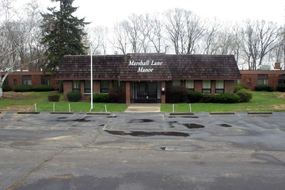 Derby's Marshall Lane Manor, a convalescent home which closed in 2015, is being considered as a dormitory for high school students from China. Photo: Mike Mayko / Hearst Connecticut Media / Connecticut Post
