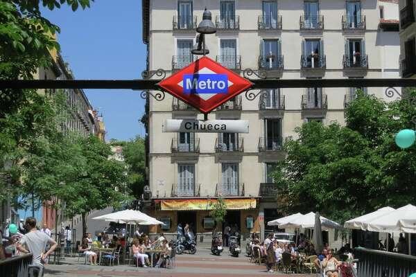 Madrid Metro Chueca