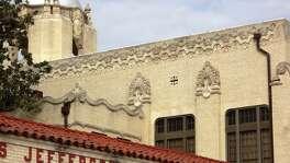 Hannibal Pianta created the decorative concrete ornamentation at Jefferson High School.