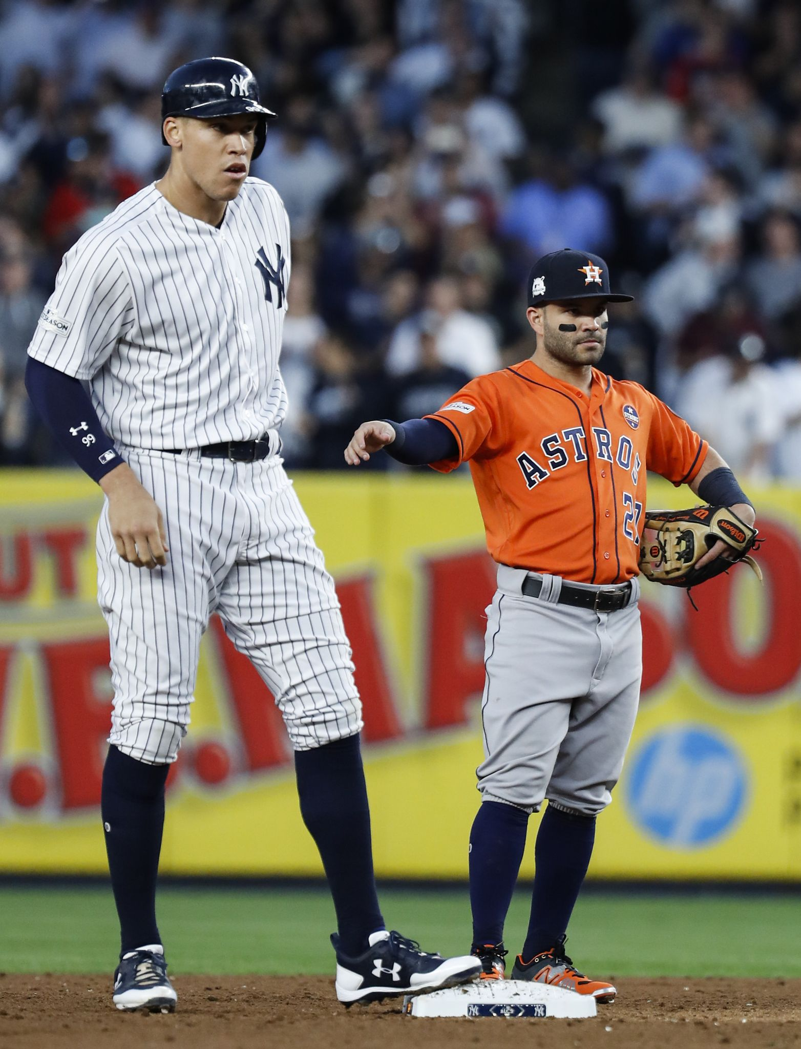 Image result for jose altuve and aaron judge photo