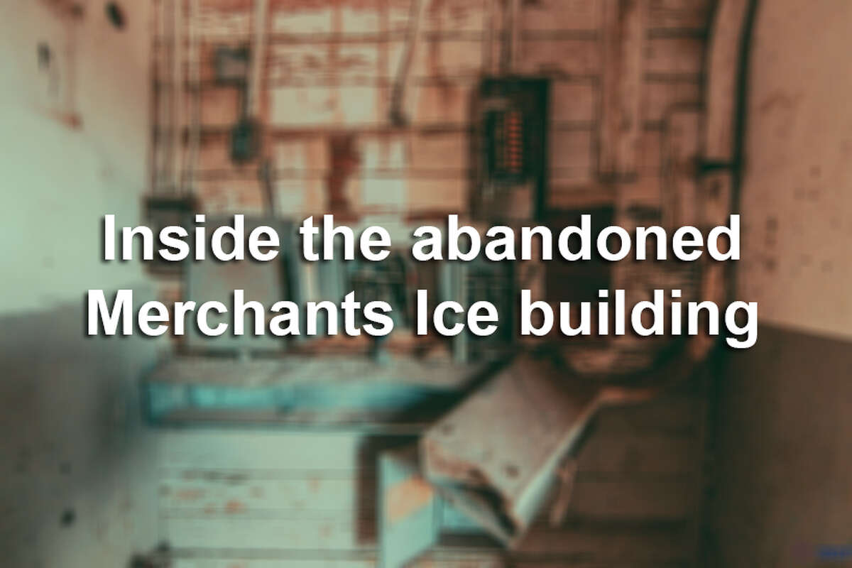The abandoned Merchants Ice and Cold Storage building will be the site of the new VelocityTX innovation hub, part of the Texas Research & Technology Foundation.