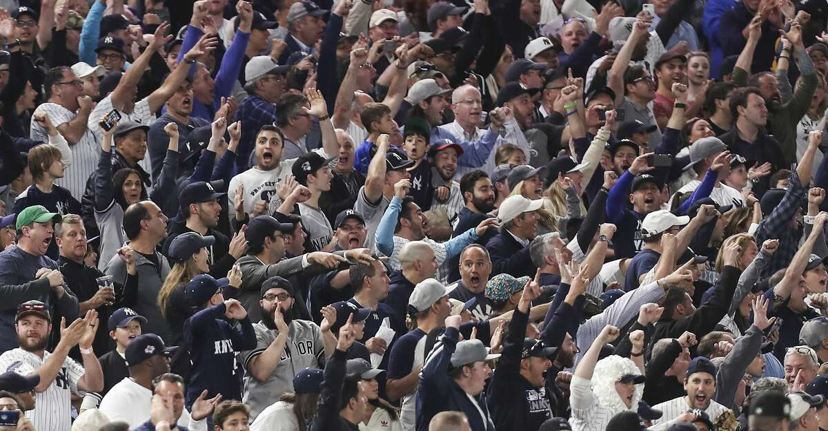The Astros are catching one break at Yankee Stadium this week: Capacity at the 54,241-seat ballpark is presently limited to 20 percent.