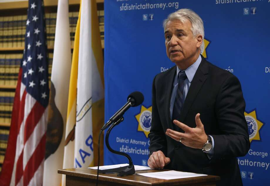 District Attorney George Gascon Photo: Paul Chinn, The Chronicle