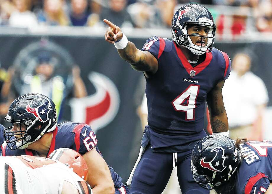 Behind Deshaun Watson's play, the Texans were among the NFL's best offenses. Without him, things cratered quickly. Photo: Brett Coomer, Staff / © 2017 Houston Chronicle