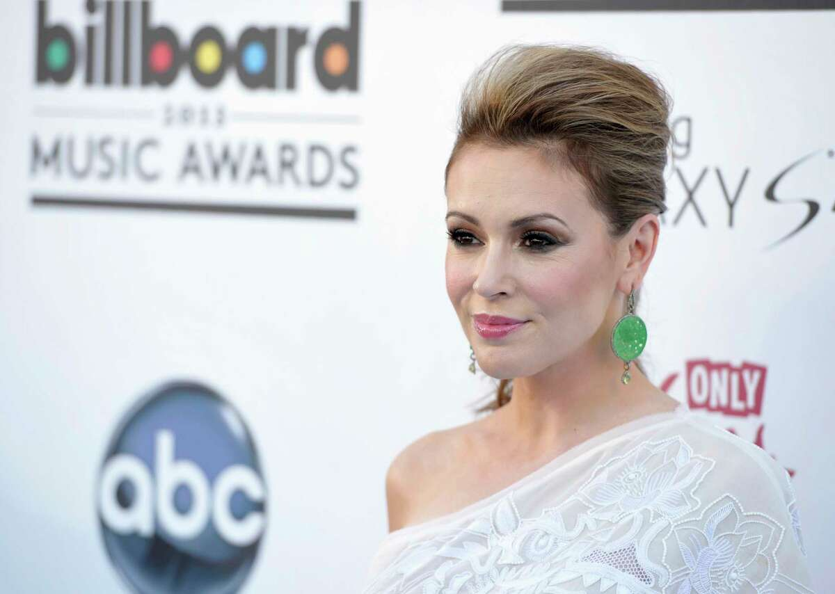 """. Thousands of women responded to actress Alyssa Milano's call to tweet """"me too"""" in order to raise awareness of sexual harassment and assault."""