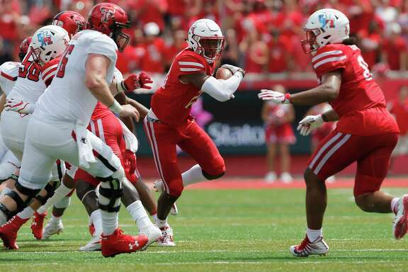 Safety Terrell Williams, right, and UH bounced back nicely from their first loss to Texas Tech and now have to do the same after last week's defeat at Tulsa.