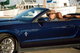 Rick Wishnak of San Rafael drives a 2012 Ford Mustang. Brian Feulner, Special to the Chronicle