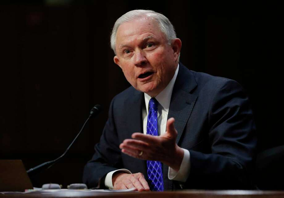 Attorney General Jeff Sessions testifies before the Senate Judiciary Committee on Capitol Hill in Washington, Wednesday, Oct. 18, 2017. (AP Photo/Carolyn Kaster) ORG XMIT: DCCK110 Photo: Carolyn Kaster / Copyright 2017 The Associated Press. All rights reserved.
