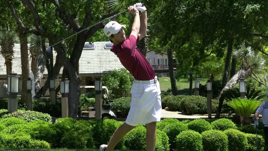 Parker Holekamp shot a 1-under 71 in the final round of the Midwestern State Invitational to move up from eighth place to fourth place. Photo: Courtesy Of TAMIU Athletics