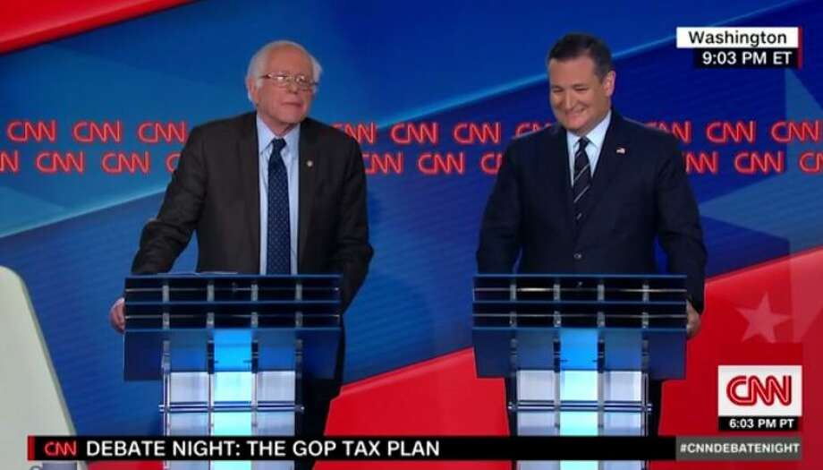 U.S. Sens. Ted Cruz and Bernie Sanders are set to debate for the 3rd time this year on CNN. The two will be joined by two other U.S. Senators for a debate over the Republicans tax cut proposals.