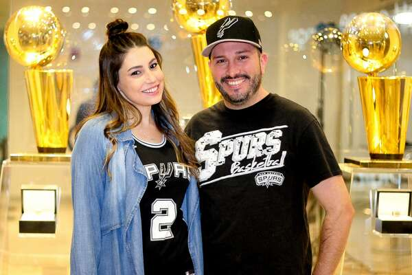 San Antonio Spurs fans showed their support for the team in a sweet 107-99 victory over the Minnesota Timberwolves in the season opener on Wednesday, Oct. 18, 2017.
