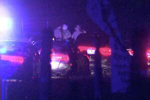 Lt. Jason Reyes, a spokesman for Texas DPS, said the Atascosa County Sheriff's Office initiated the chase around 10:15 p.m. when they tried to stop a driver for traffic and equipment violations.