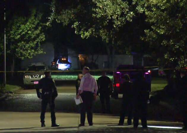 Man dead after driving car into southwest Houston house
