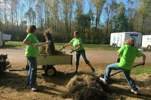 On Oct. 9, Chemical Bank offices in Michigan, Ohio and Indiana were closed, allowing bank employees to volunteer in their communities on a variety of different projects.