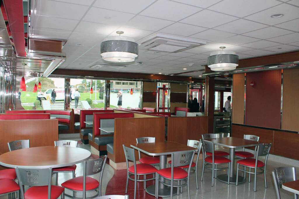 Above The Inside Of Jp S Diner On Campus Sacred Heart University In Fairfield