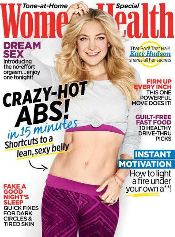 Kate Hudson on the cover of the October 2014 edition of Women's Health. On Oct. 18, 2017, Hearst Corp. announced the acquisition of Rodale magazine titles including Women's Health, as well as a book publishing operation. (Photo via PRNewswire) Photo: PR NEWSWIRE / Women's Health Magazine