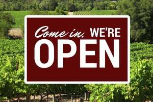 Hundreds of wineries with tasting rooms are open in Napa, Sonoma and Mendocino counties. Wine Road posted a list of open wineries in Northern Sonoma County along with this image.