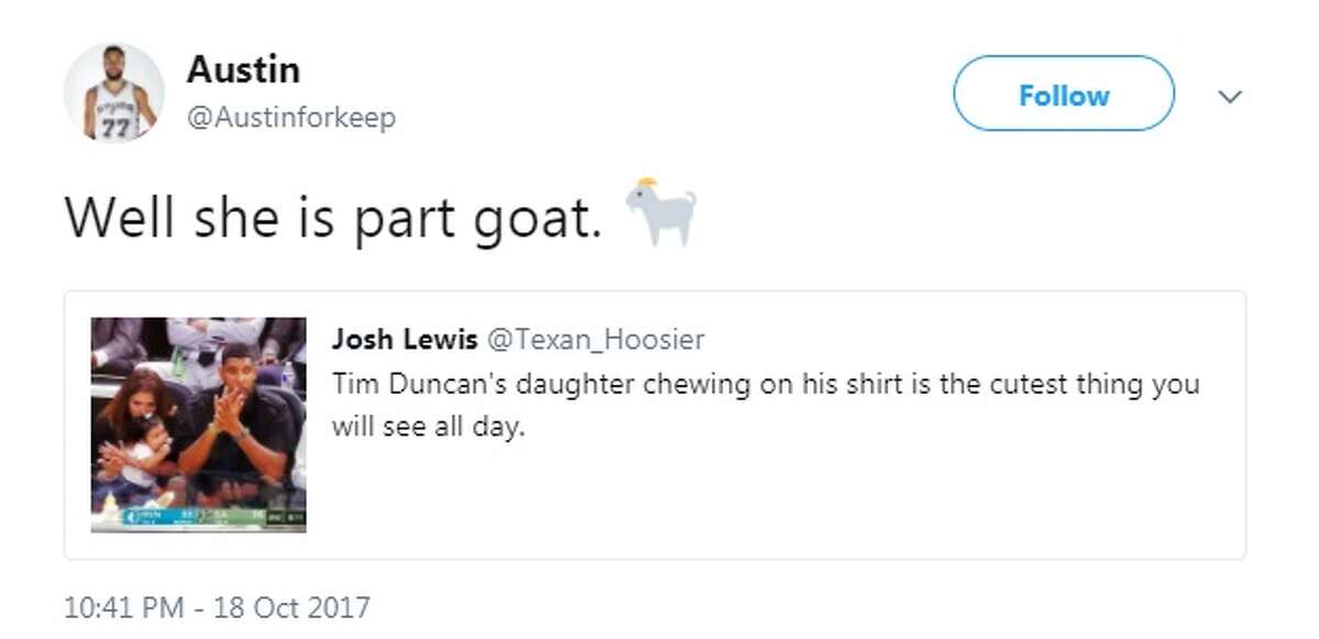 @Austinforkeep: Well she is part goat.