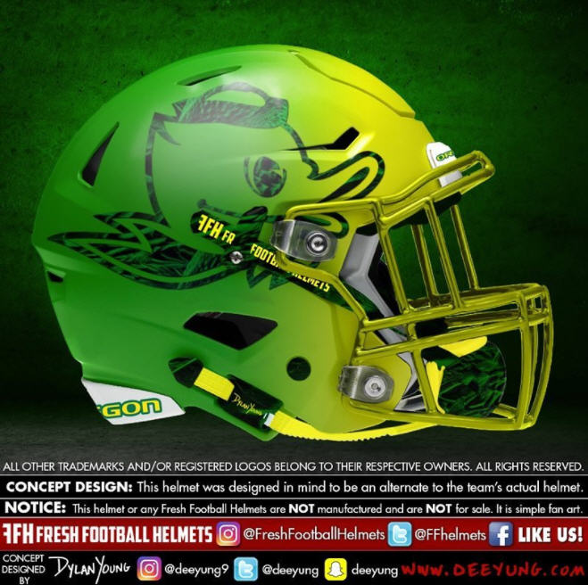 Custom Ncaa Concept Football Helmets Show What Your Favorite College Football Team Should Be Wearing