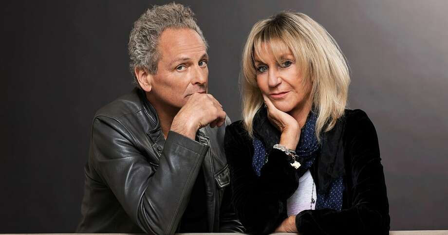 Lindsey Buckingham, left, and Christine McVie are scheduled to perform at the Wagner Noel Performing Arts Center on Sunday night. Photo: Courtesy Photo