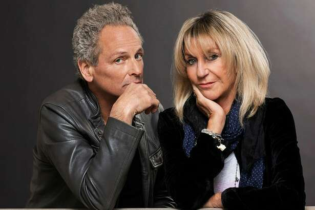Lindsey Buckingham, left, and Christine   McVie are scheduled to perform at the   Wagner Noel Performing Arts Center on Sunday night.
