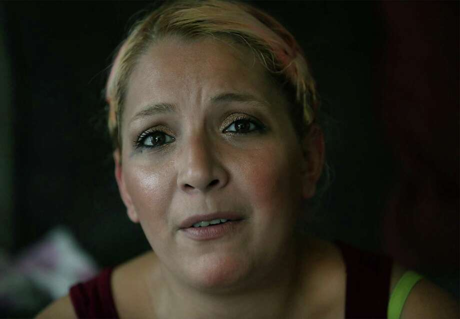 Victoria Ortiz, 30, has overcome opioid addiction, including heroin, and now is a mainstay at a support group for mothers who gave birth to addicted babies. Photo: Bob Owen, Staff / San Antonio Express-News / ©2017 San Antonio Express-News