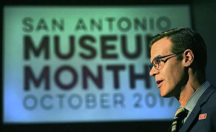 Richard Aste director of the McNay Art Museum.