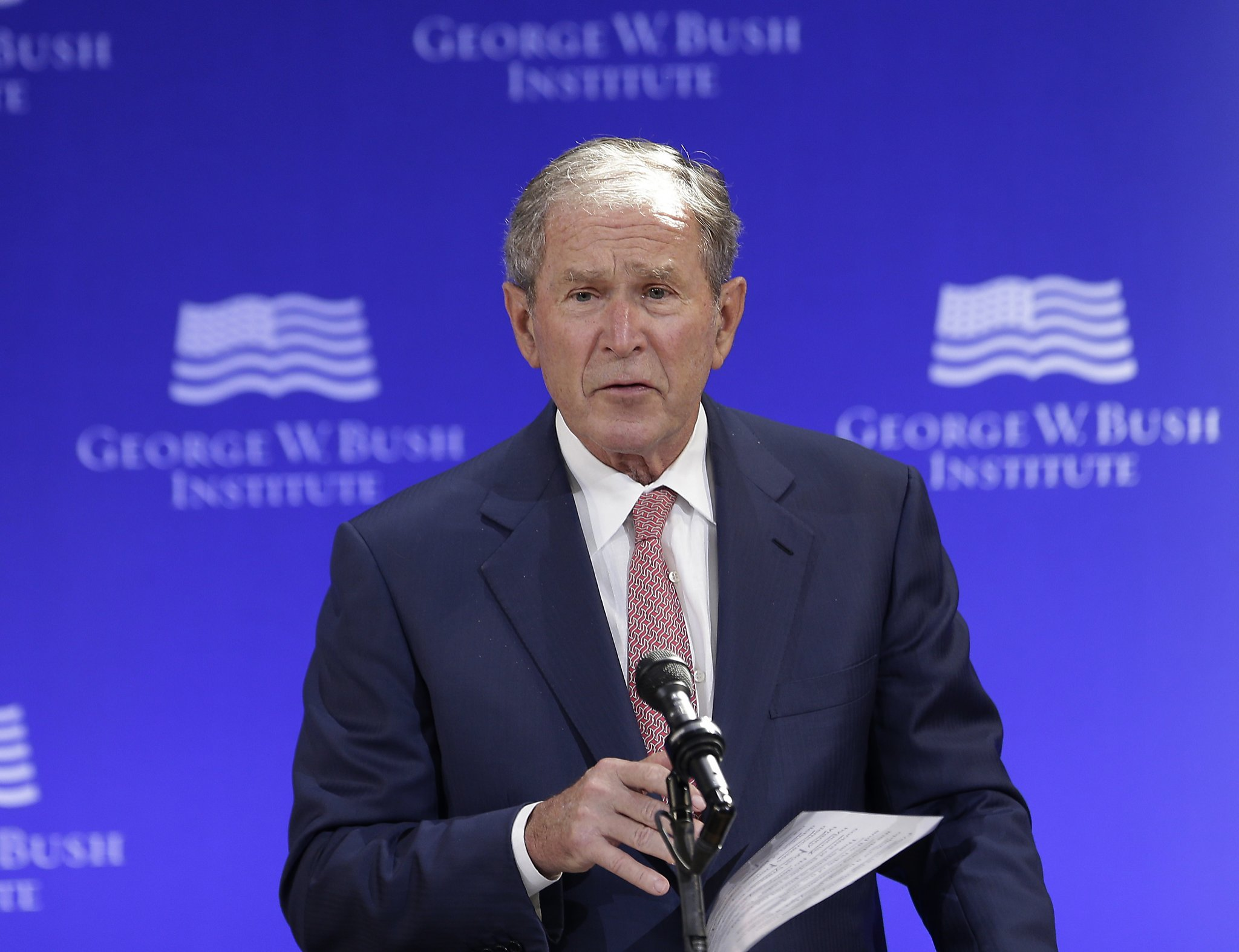 Opinion: George W. Bush's unmistakable takedown of Trumpism - and Trump