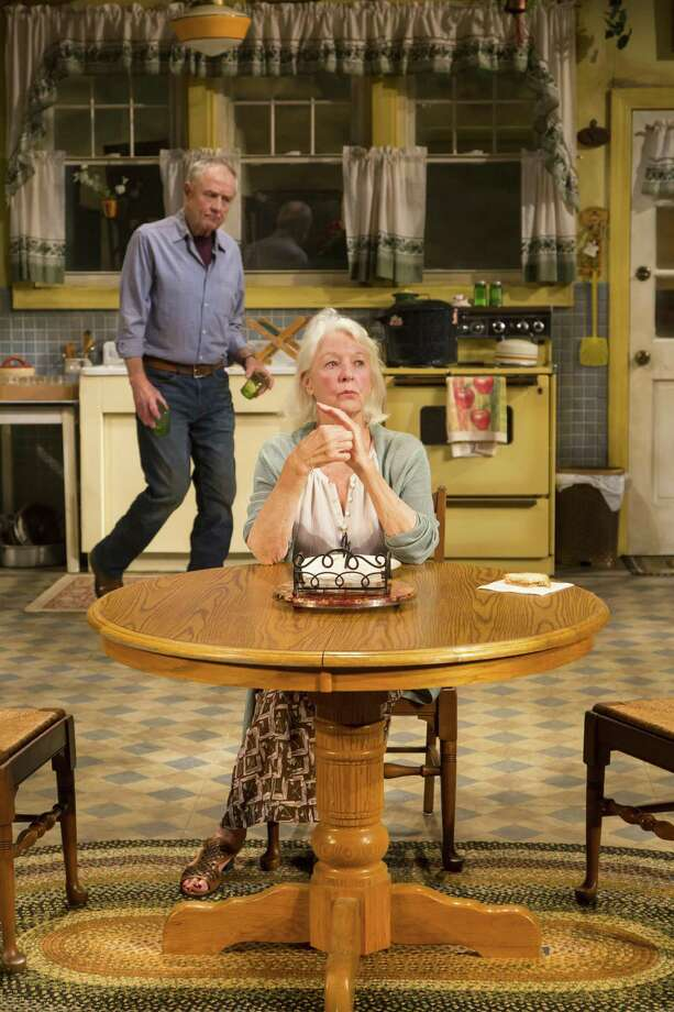 """Denis Arndt and Jane Alexander in a scene from """"Fireflies."""" Photo: T. Charles Erickson / Long Wharf Theatre"""