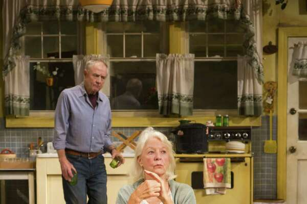 """Denis Arndt and Jane Alexander in a scene from """"Fireflies."""""""
