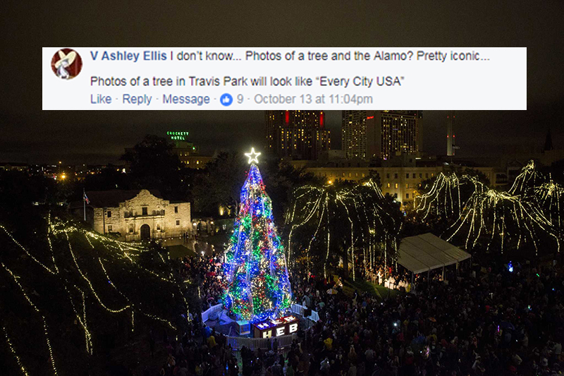 Heb Hours Christmas Eve.Decision To Relocate H E B Tree Lighting Tradition Upsets