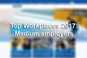 Click through to see which San Antonio-area companies were honored as a Top Workplace for 2017.