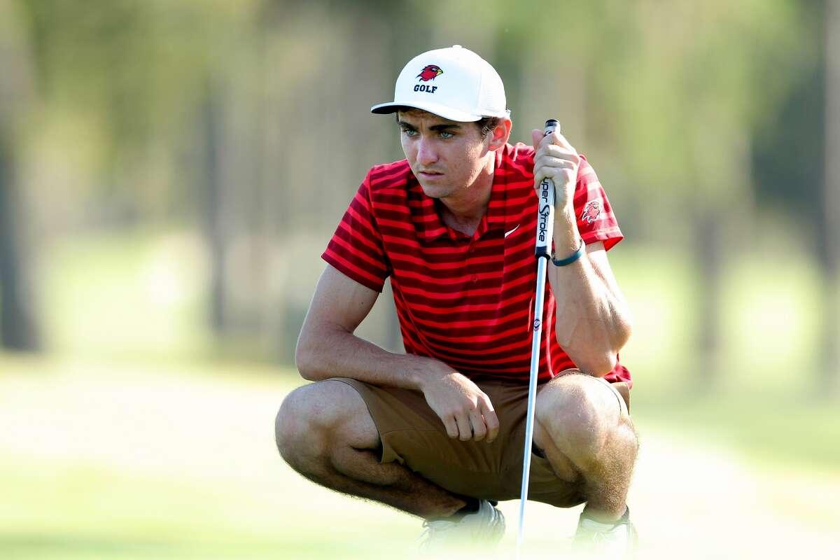 Clay McCrory, Lamar University men's golf. (Photo provided by Lamar Athletics)
